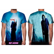 Camisa, Camiseta O Coringa The Dark Night - Personalizada