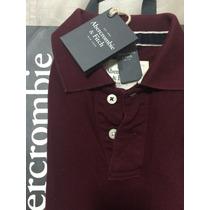 Camiseta Polo Abercrombie & Fitch Original Importada