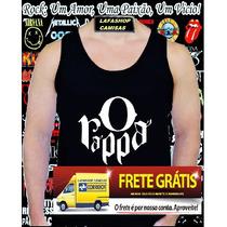 Camiseta Regata O Rappa Camisa Banda Rock Nacional Brasil