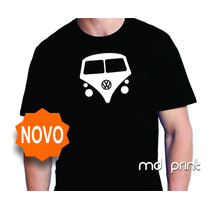 Camiseta Kombi Carros Antigos Volkswagen Vw Combi