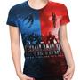Camiseta Baby Look Filme Civil War Marvel Capitão América 02