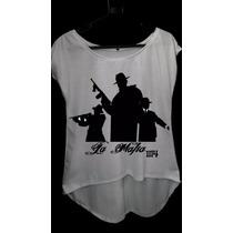Camiseta La Mafia Tamanho P M G