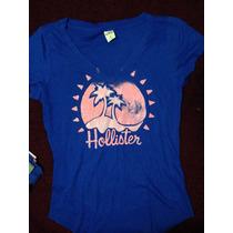 Camiseta Feminina Hollister - Tamanho M