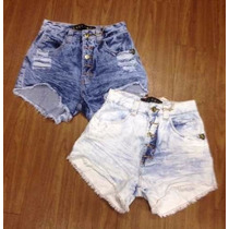 Kit 10 Shorts Jeans Panicats Hot Pants 10f77
