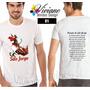 Camisas Personalizada São Jorge Lindas & Confortáveis