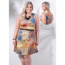 Vestido Feminino - Plus Size G Gg Xxg Xlg Gordinha Linda