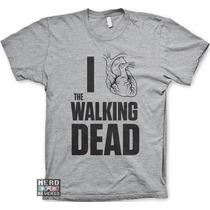 Camisetas The Walking Dead Rick Daryl Dixon Séries