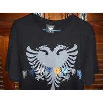 Camiseta Cavalera Preta Original Linda