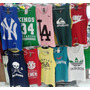 Kit 10 Camisetas Regatas Masculina Academia Balada Algodao