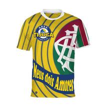 Camisa Meus Dois Amores - Unidos Da Tijuca E Fluminense