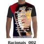 Camisa Camiseta Racionais Mcs Formula Mágica Da Paz 002