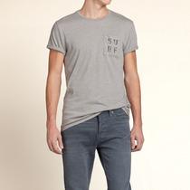 Camiseta Hollister Masculina - Importada Original Eua