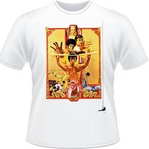 Camiseta Bruce Lee Enter The Dragon Operação Dragão Camisa