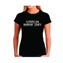 Baby Look Feminina American Horror Story - Camiseta Camisa