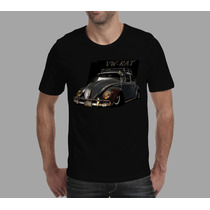 Camisetas Vw Fusca Rat Look Cultura Camiseta De Carro Antigo