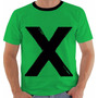 Camiseta Ed Sheeran X