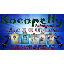 Camisas Personalizadas 100% Poliester Kocopelly Estamparia