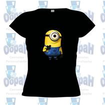 Camisetaminions Personalizada Engraçada Frete Grátis