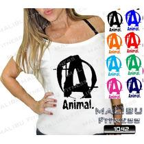 Canoa Feminina Academia Animal Zumba Musculação Malhar