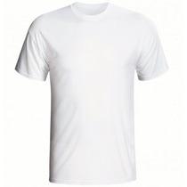 30 Camiseta Basica Lisa 100% Algodão Penteado Branca