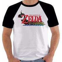Camiseta Game The Legend Of Zelda The Wind Waker