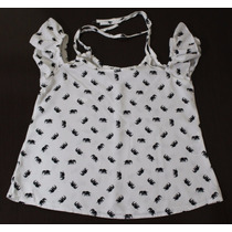 Blusa Ciganinha Infantil - Batinha Viscose