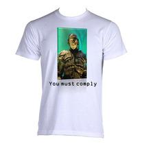 Camiseta Star Trek Jornada Nas Estrelas Borg Nemesis P A Gg