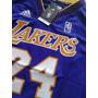 Camisa Adidas De Basquete Lakers - Frete Grátis