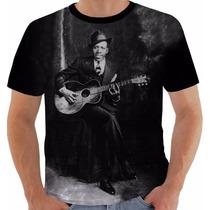 Camiseta Robert Johnson Cross Road Blues