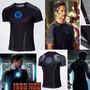 Camisa Homem De Ferro Tony Stark Pronta Entrega