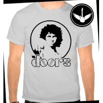 Camiseta The Doors Baby Look Jim Morrison Banda Rock Camisa