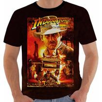 Camiseta Indiana Jones - Caçadores Da Arca Perdida - Movies