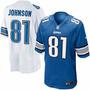 Camisa Detroit Lions Nfl - Calvin Johnson - Pronta Entrega