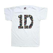 Camiseta 1d One Direction Flower Temos Blusa Canguru
