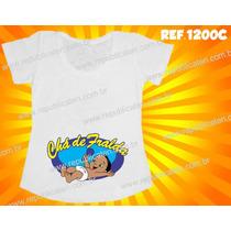 Camiseta Blusa Bata Gestante Gravida Chá De Fralda Bebê