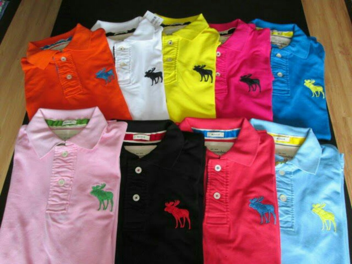 camisetas gola polo lacoste abercrombie e hugo boss original 632111  MLB20474453892 112015 F cd218853f7