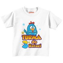 Camiseta Personalizada Da Galinha Pintadinha - Aniversário!