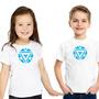 Camiseta Homem De Ferro - Infantil - Personalizada