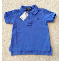 Ralph Lauren | Camiseta Gola Polo | Original | 9 Meses