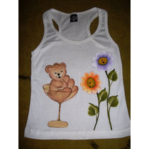 Camisetas Infantis Pintadas À Mão