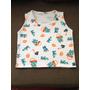 Camiseta Regata Em Malha Lisa Ou Estampada Para Bebê P M G