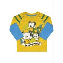 Camiseta Manga Comprida Tigor T Tigre 3p
