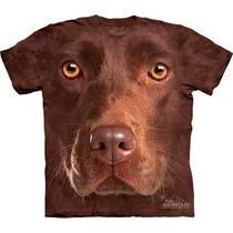 Camiseta Cachorro Labrador Chocolate, Marron - The Mountain