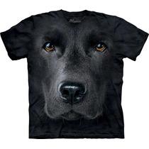 Camiseta Cão Cachorro Labrador Face Importada - The Mountain