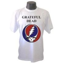Camiseta Divertidas Grateful Dead Bandas Rock Galeria Musica