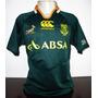 Camisa Africa Do Sul De Rugby Home Springboks Canterbury