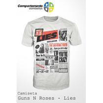 Camiseta Guns N Roses - Lies