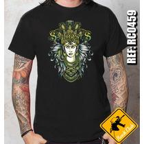 Camiseta De Banda - Sylosis - Maya - Rock Club