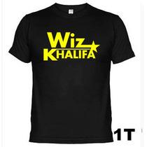 Camisetas Bandas Rock Wiz Khalifa 302
