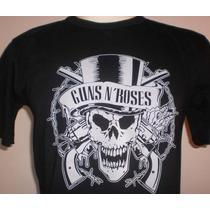 Camiseta Bandas Rock - Guns N